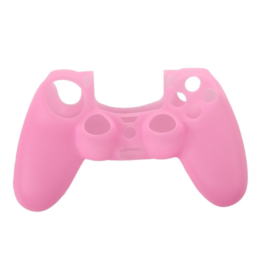SODIAL (R)Housse Etui Coque En Silicone Rose Pour Manette Console Playstation 4 PS4 product image