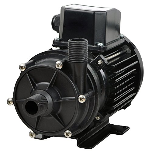 Jabsco 436979 NEMP 50/7 Magnetic Drive / Coupled Centrifugal Pump, 13.2 GPM, 1/2