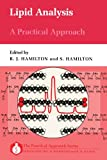 Lipid Analysis : A Practical Approach, , 0199630992