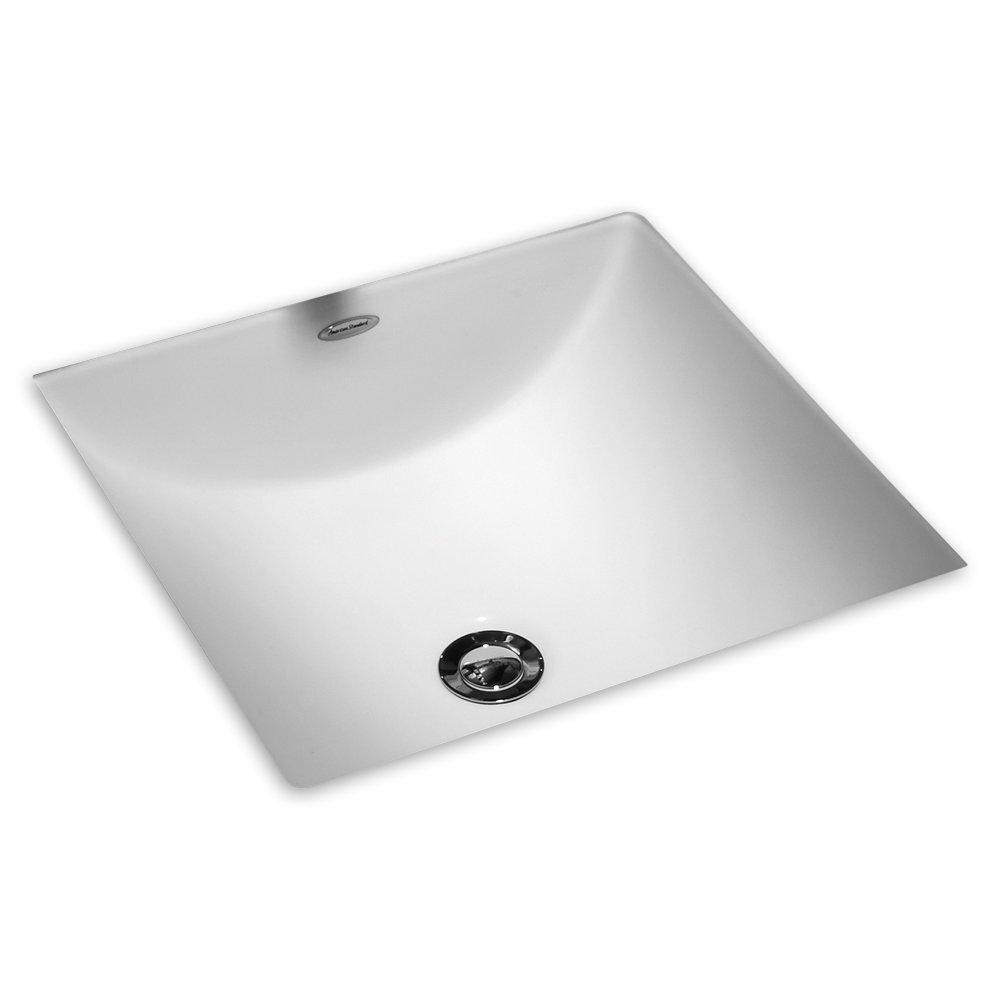 American Standard 0426000.020 Studio Carre 13 by 13-Inch Undercounter Sink, White