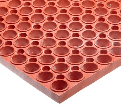 y Nitrile Rubber San-Eze II Safety/Anti-Fatigue Mat, for Wet or Greasy Areas, 39