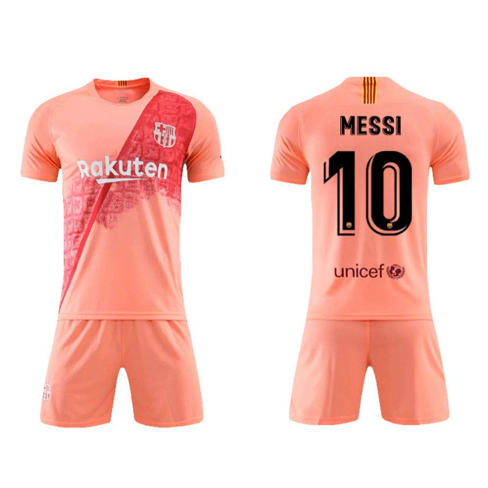 outlet store d89f5 73158 2019-2020 Barcelona Home And Away Pink, 10 Messi -Jersey ...