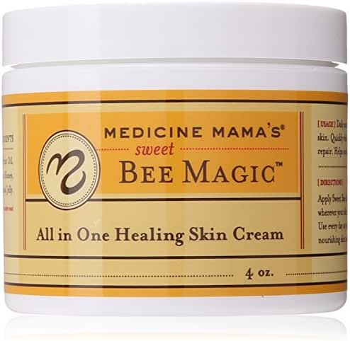 Medicine Mama's Apothecary Sweet Bee Magic All In One Healing Skin Cream, 4 Ounce
