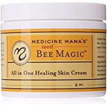 Medicine Mama's Apothecary Sweet Bee Magic All In One Healing Skin Cream, 4...
