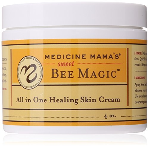 (Medicine Mama's Apothecary Sweet Bee Magic All In One Healing Skin Cream, 4 Ounce)