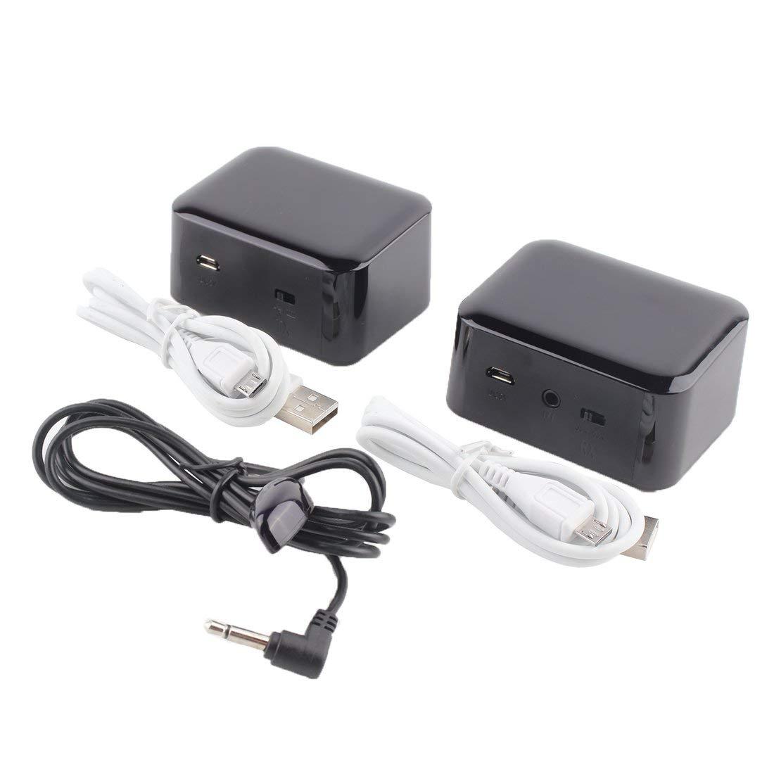 Wireless IR Remote Extender Repeater Dual Frequency Sender Empfä nger System Kit Blaster Emitter fü r IR-Gerä te - schwarz Formulaone