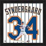 Noah Syndergaard Mets Jersey Uniform 20 x 20 Frame Photo - Licensed MLB Baseball Collectible