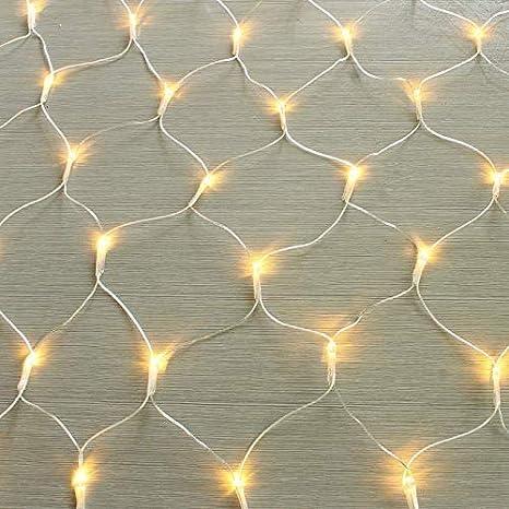 lchde 204 LED Lichternetz Lichtervorhang Lichterkette Innen und Au/ßen Leuchte Weihnachten Hochzeit Dekoration mit Stecker