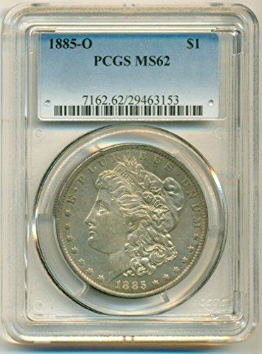 1885 O Morgan Dollar MS62 PCGS