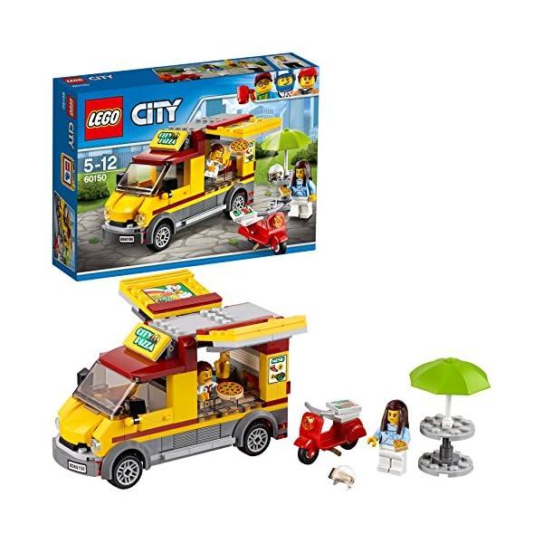 LEGO- City Furgone delle Pizze, Multicolore, 60150 1 spesavip