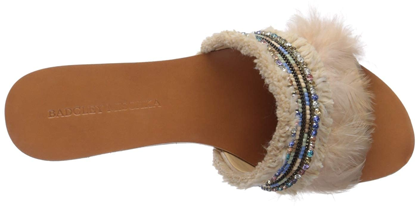Badgley Mischka Womens Fortune Slide Sandal