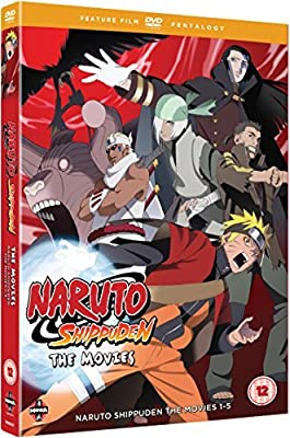 Naruto - Shippuden Movie Pentalogy DVD by Junko Takeuchi ...