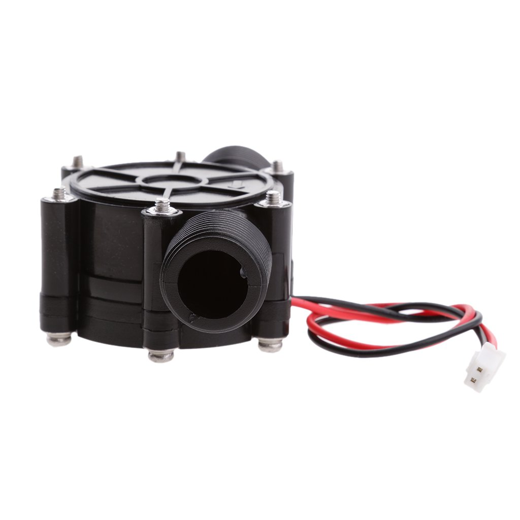 MagiDeal 10W DC 12V Micro Hydro Generator Water Flow Hydraulic Hydroelectric Generator for Radio/Led Light Charging