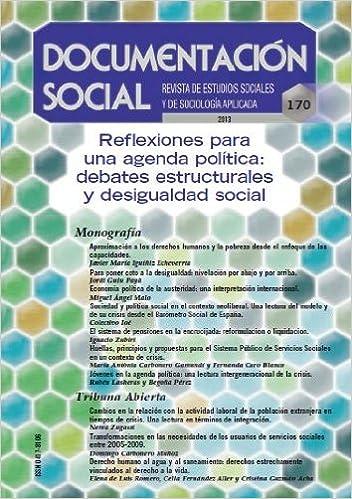 REFLEXIONES PARA UNA AGENDA POLITICA - DS 170: 9788484405801 ...