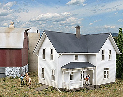 HO Scale Lancaster Farmhouse - Lasercut  - Scale Farmhouse Kit Shopping Results