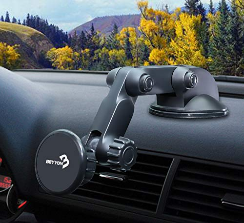 Car Phone Mount Magnetic Beyyon Dashboard Windshield 5 Magne
