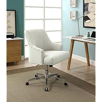 Serta Leighton Home Office Chair, Ivory