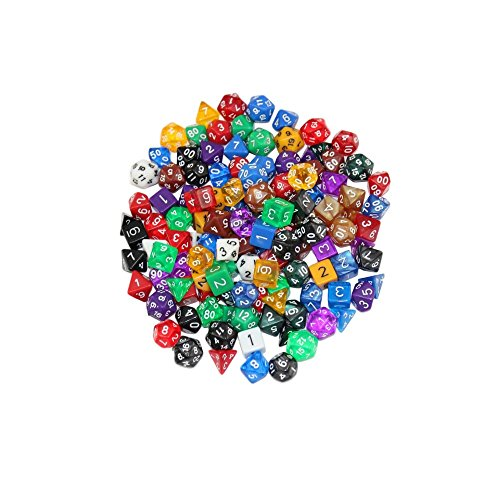 Nobe Polyhedral Dice Complete Different product image