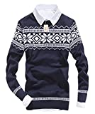 Product review for MEYKISS Men's Snowflake Pattern Christmas Sweater Jumper