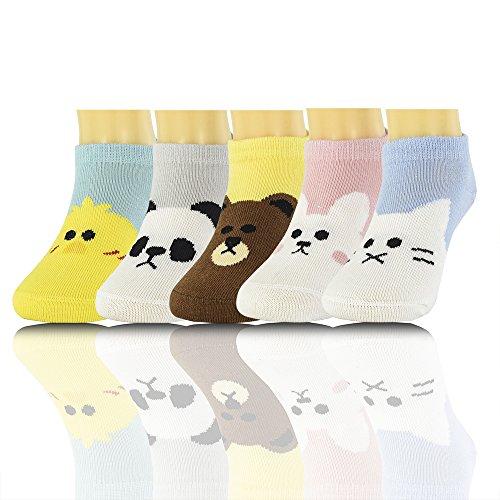 slaixiu Cute Animal Design Boys Girls Cotton So...