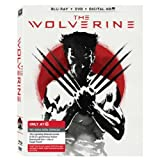 THE WOLVERINE Blu ray + DVD + Digit