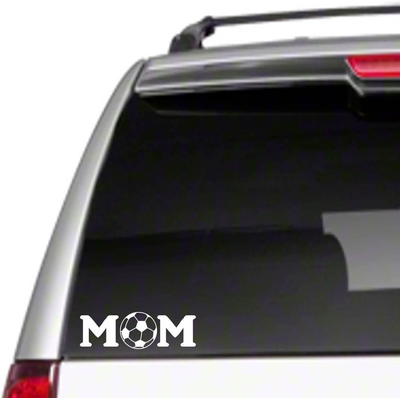 "Soccer MOM 6/"" Car Vinyl Sticker Decal sports field pads club outdoor *B8*"