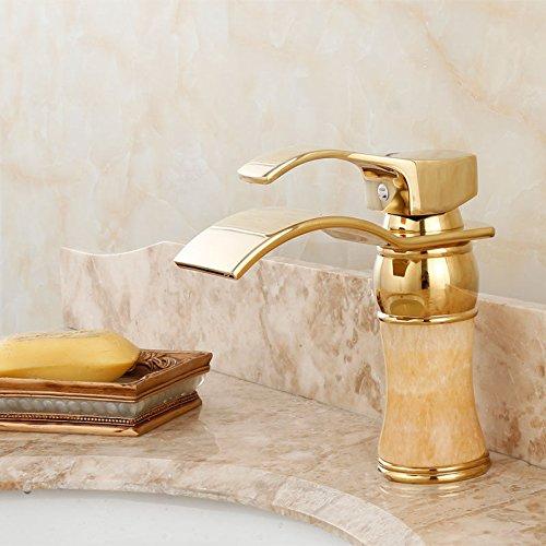 Jewel Copper Waterfall Faucet Pull Down Copper Jewel