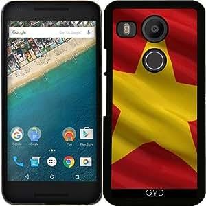 Funda para Google Nexus 5X (LG) - Bandera De Vietnam by Carsten Reisinger