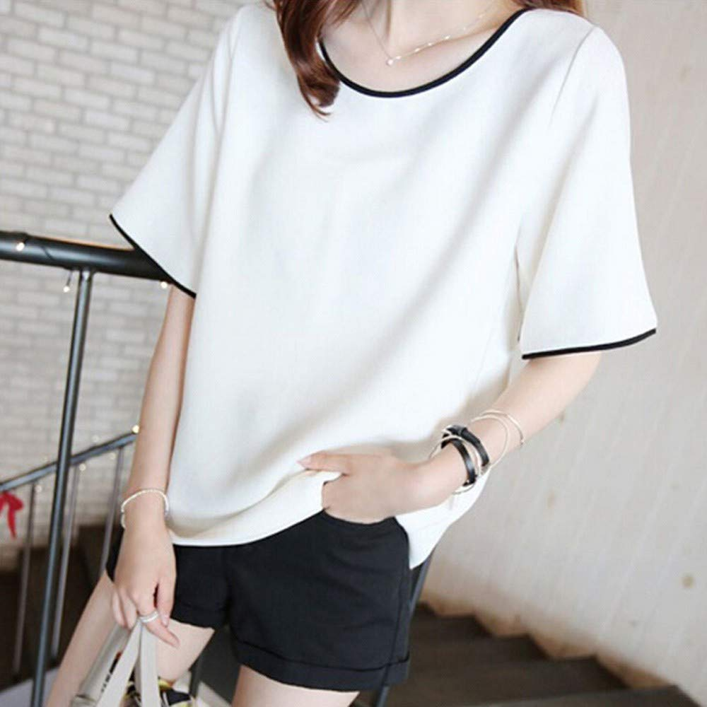 Amazon.com: YKARITIANNA Fashion Womens Short Sleeve Vest ...