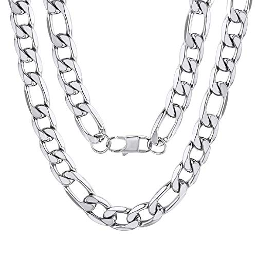 13mm Curb - Men's Figaro Curb Chain 13mm 22