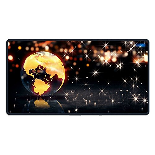 Extended Gaming Mouse Pad Earth Background Loop Animation