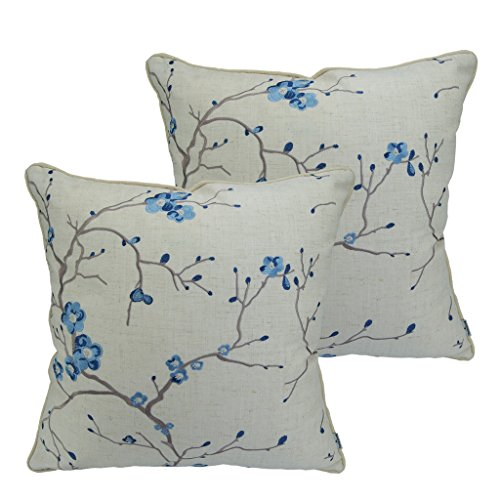 Embroidery Decorative Pillow - 6