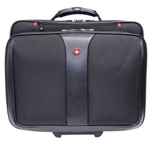 PATRIOT from Swiss Gear by Wenger Triple Gusset Rolling Computer Case w/ Removable (Wenger Notebook)