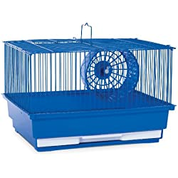 Prevue Hendryx SP2000B Single Story Hamster and Gerbil Cage, Blue