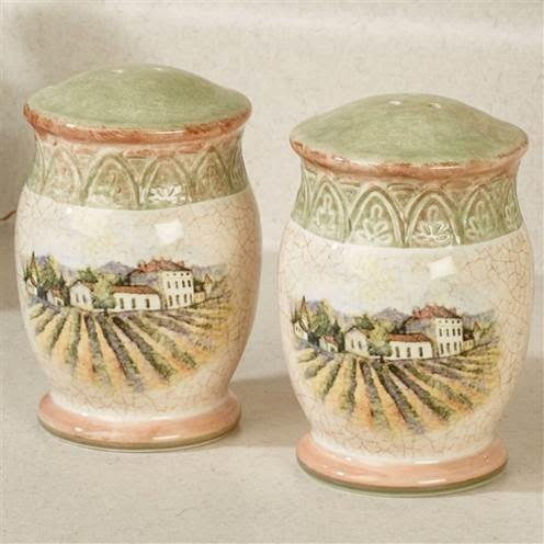 Certified International Sanctuary Wine Salt & Pepper Set 4.25''