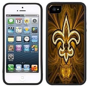 Fleur de Lys Lis Handmade iPhone 5 5S Black Case