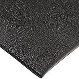 NoTrax C01S2030BL Kitchen Comfort Mat, 20'' Width x 30'' Length x 3/8'' Thickness, Black