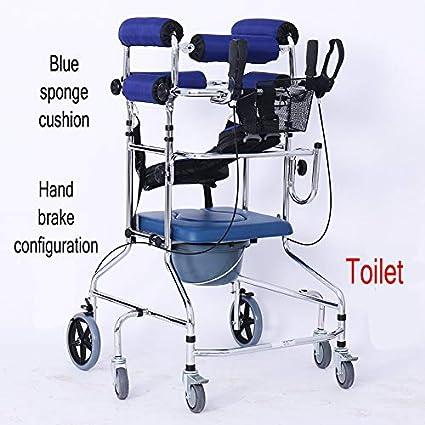 Andador con ruedas con equipo de rehabilitación de asiento de ...
