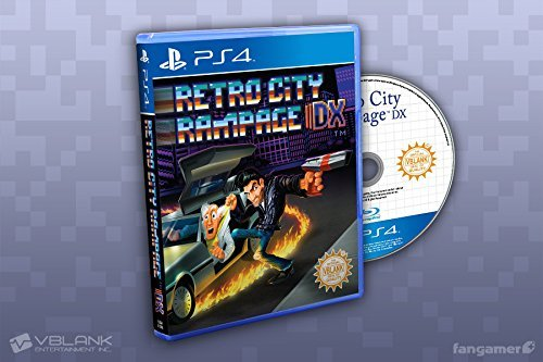 Retro City Rampage DX (PS4 Physical Disc Retail Version) #/2000 (Ps4 Retro Rampage City)