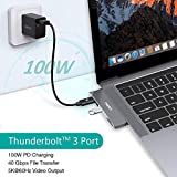 MacBook Pro USB Adapter, CHOETECH 7-in-1 MacBook