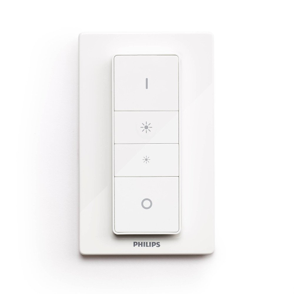 Philips Hue Dimmer Switch (White Ambiance), Compatible with Amazon ... for Philips Switches  155sfw
