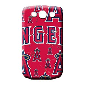 samsung galaxy s3 Shockproof phone carrying case cover phone Hard Cases With Fashion Design Appearance los angeles angels mlb baseball