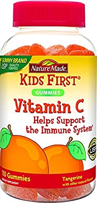 Nature Made Kids First Vitamin C Gummies, 110 Count
