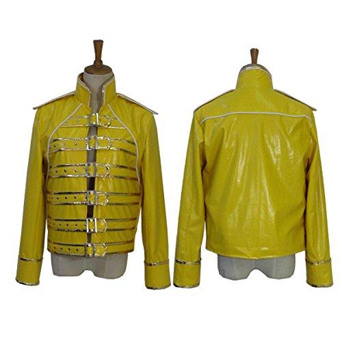 makura Men's 2513QUEEN Freddie Mercury jacket Cosplay (S) ()