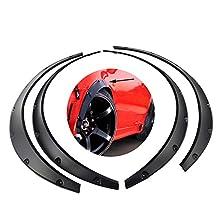 4 Pcs Car Fender Flares Arch Wheel Eyebrow Protector/mudguards Sticker Universal