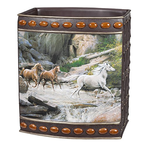 [Creative Bath Products Horse Canyon Waste Basket] (Creative Cow Costumes)