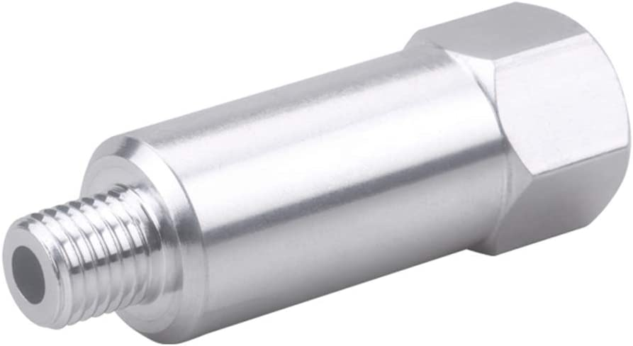 zroven LS Engine Swap Coolant Temperature Sensor M12 1.5 Adapter LS1 LS3 LS2 LQ4 LQ9 LS6 L92 L99 L33 LR4 551179L ICT Billet Extended Length Temperature Sensor