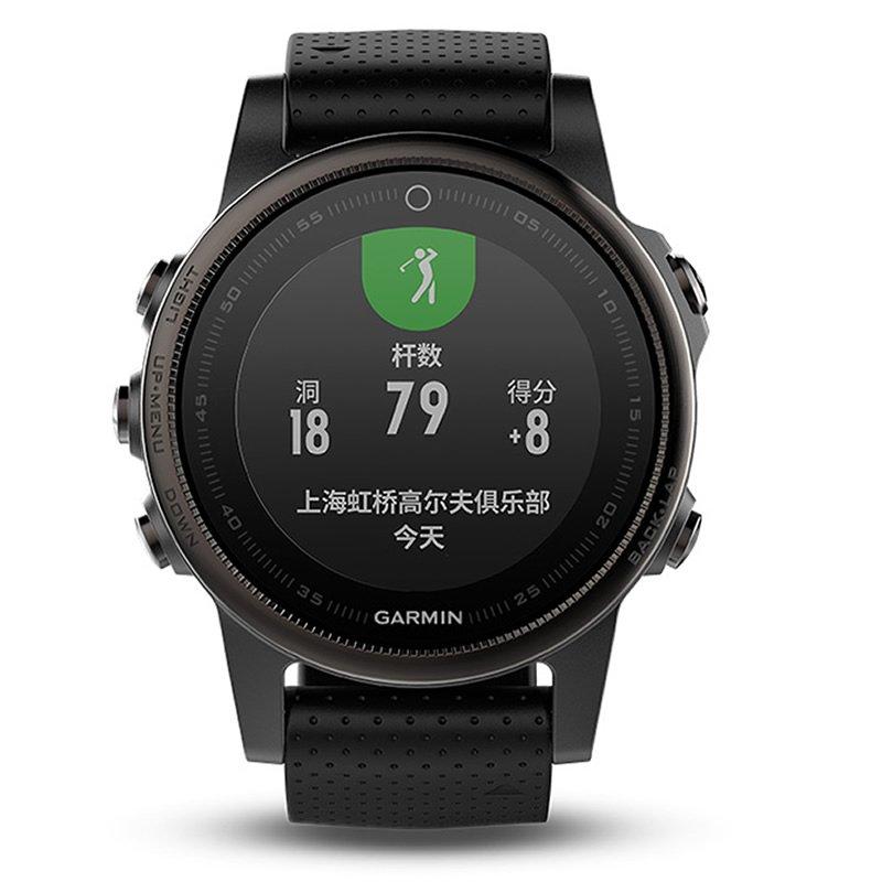 Garmin佳明Fenix5S光电心率GPS运动手表