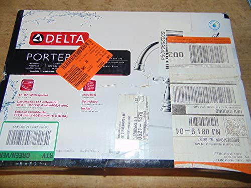 Delta Porter 8 in. Widespread 2-Handle Bathroom Faucet in Chrome