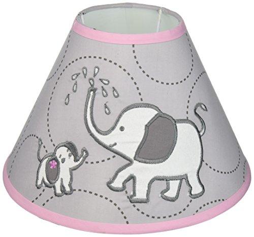 GEENNY Lamp Shade without Base, (Elephant Base)